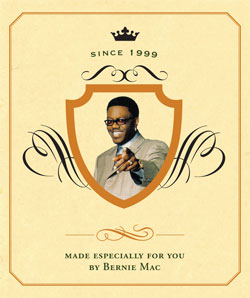 Bernie Mac Custom Wine Label