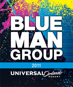 Blue Man Group wine label