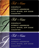 Address Labels - Avanti