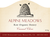 Honey Labels - Classic Beehive