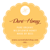 Honey Labels - Hallmark Solid