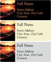 Address Labels - Lakeside
