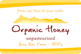 Honey Labels - Mountain Vista