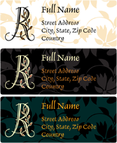 Address Labels - Olive