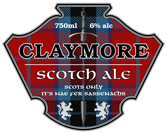 Beer Labels - Claymore
