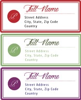 Hallmark address custom label shop for Hallmark address labels