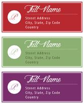 Hallmark solid address custom label shop for Hallmark address labels