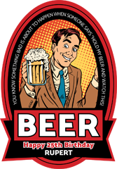 Beer Labels - Hold My Beer