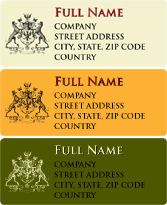 Photo Labels - Insignia
