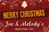 Christmas Labels - Ornate